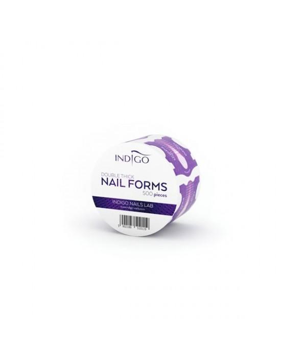 Indigo Nail Forms 500 psc